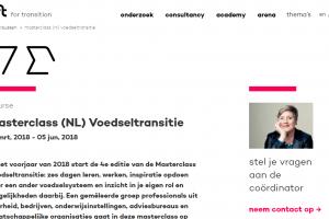 DRIFT - Masterclass (NL) Voedseltransitie