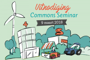 uitnodiging Commons Seminar Drechtsteden, Dordrecht 9maart