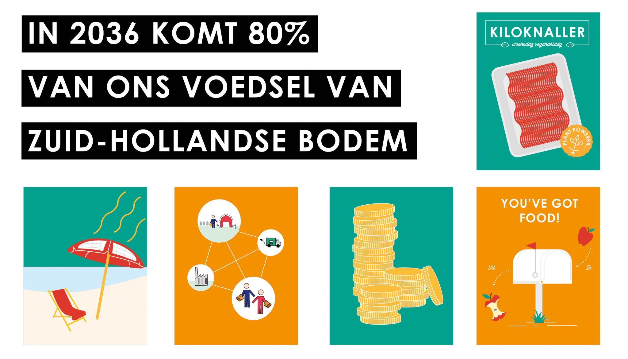Vensterlandbouw: 80% lokaal eten in 2036