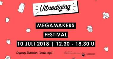 uitnodiging megamakers festival - web