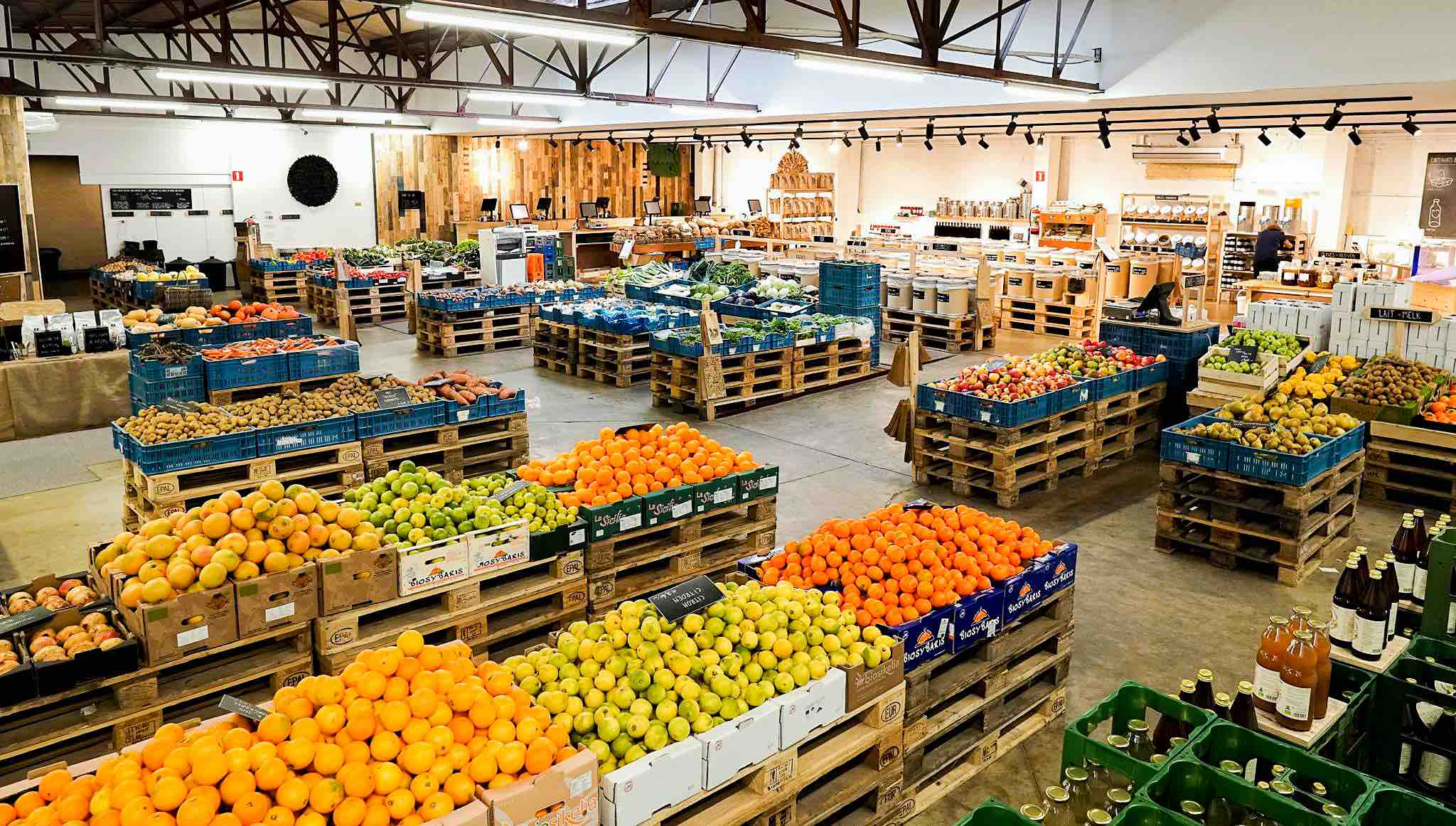 Rondleiding The Barn Bio Market - Antwerpen-Zuid